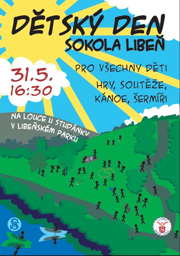Dětský den Sokola Praha-Libeň 2007