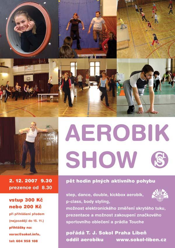 plakát Aerobik Show 2007