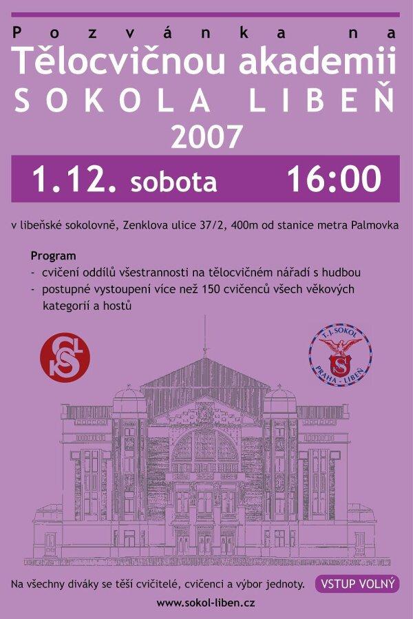 Akademie Sokola Praha-Libeň 2007