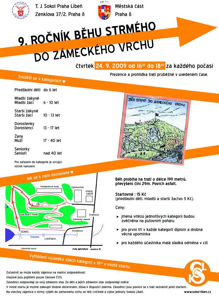 Běh Strmý - 9.ročník